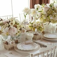 White Winter Tablescape