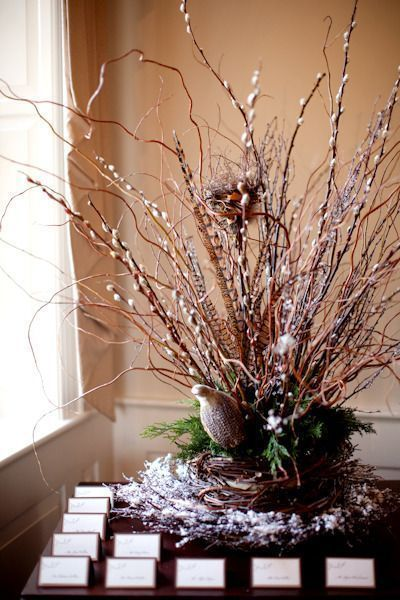 Winter Wedding Display