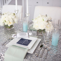 Sparkly Winter Tablescape