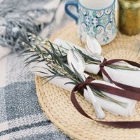 Winter Wedding Serveware