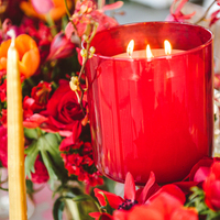Romantic Red Centerpiece
