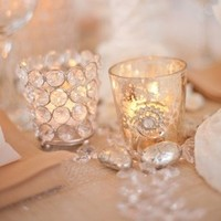 Winter Wedding Votives