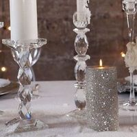 Silver Winter Wedding Decor