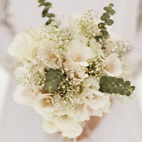 Ivory Bouquet with Eucalyptus