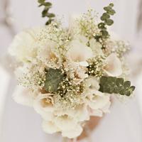 Ivory Bouquet with Eucalyptus