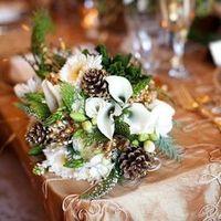 Wintery Bridal Bouquet