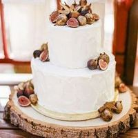 Fig Winter Wedding Cake