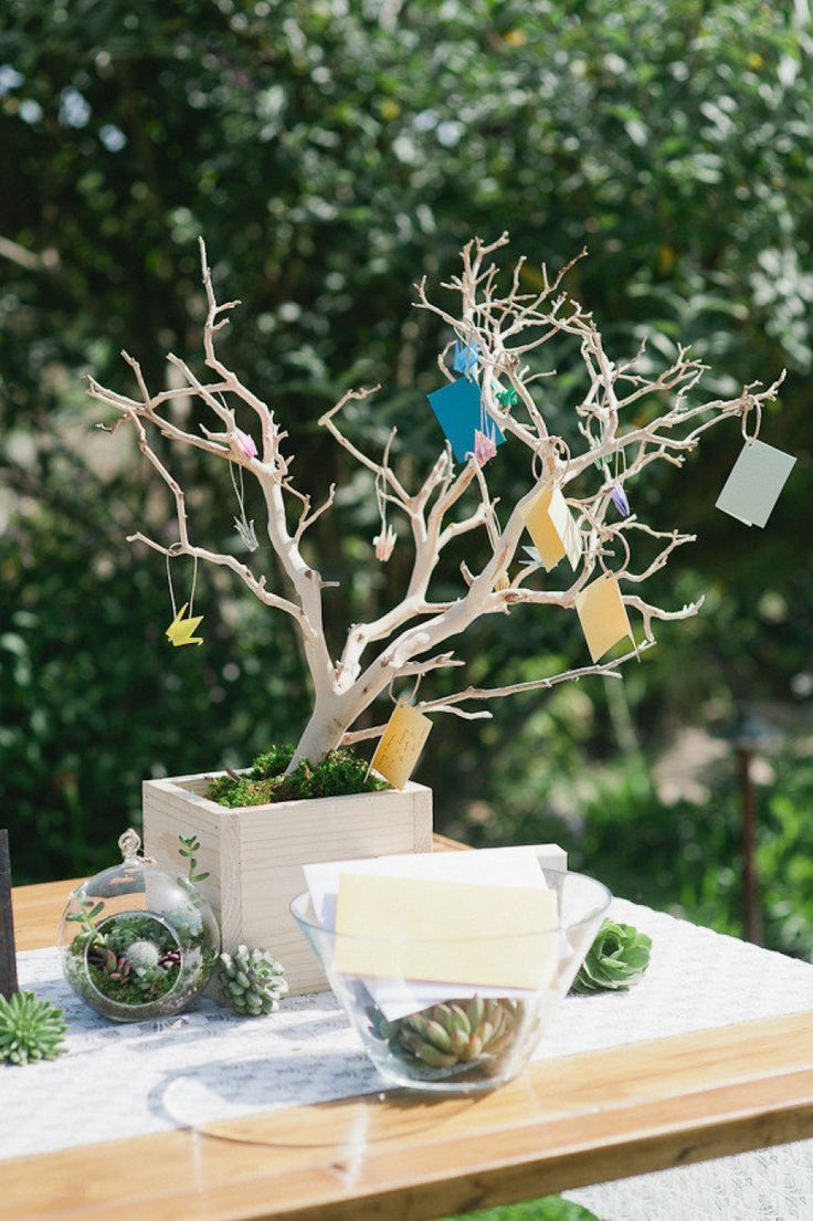 Branching Escort Card Display