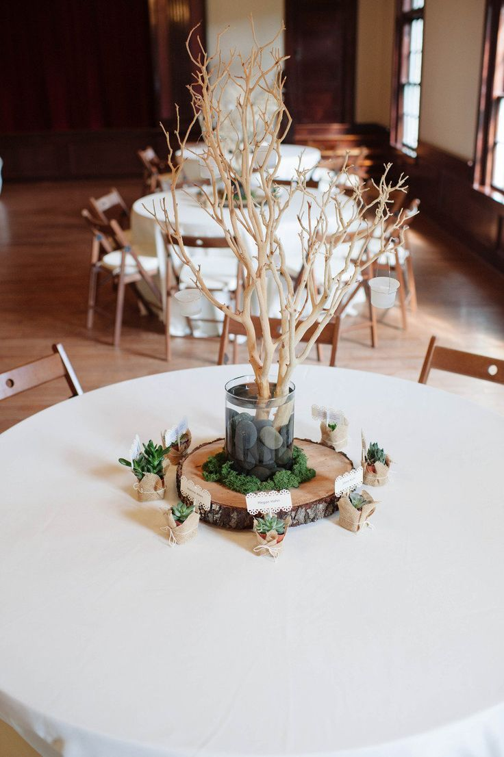 Eco-Friendly Centerpiece