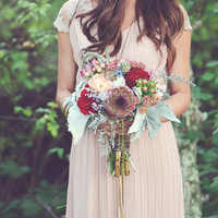 Boho Bride Bouquet
