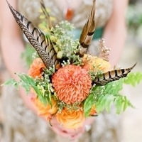 Boho Feather Bouquet