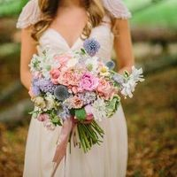 Boho Chic Pastel Bouquet