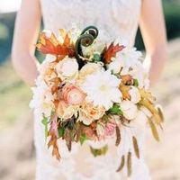 Boho Chic Fall Bouquet
