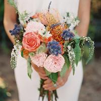 Eclectic Bohemian Bouquet