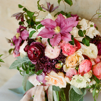Pink and Purple Boho Bouquet