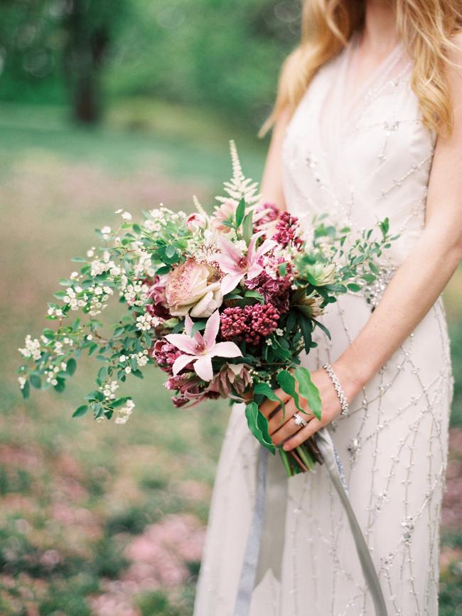 Rustic Bohemian Bride Bouquet