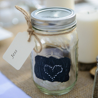 Mason Jar Placecards