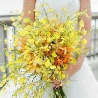 Unique Yellow Bouquet