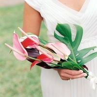 Unique Beach Wedding Bouquet