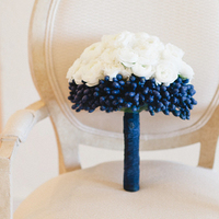 Unique Blue and White Bouquet