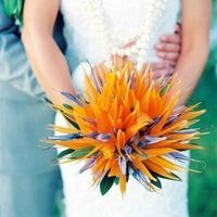 Creative Beach Wedding Bouquet