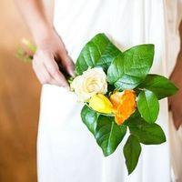 Unique Leafy Bouquet