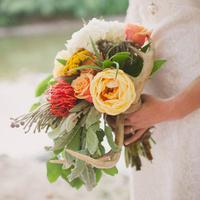 Boho Chic Bride Bouquet