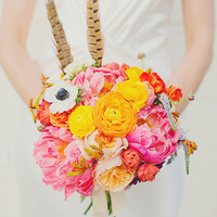 Bright Boho Chic Bouquet