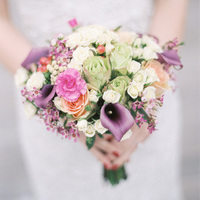 Bright Bride's Bouquet
