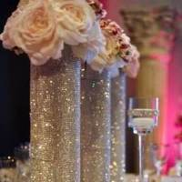 Bling Column for 60' round tables