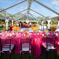 Clear Tent Reception