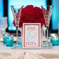 Winter Wedding Blue & Red