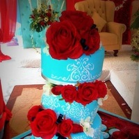 Winter Wedding Blue & Red
