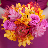 Beach Bridesmaid Bouquet