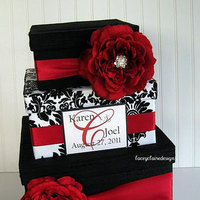 Damask Card Holder