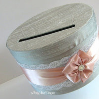 One tier round card box