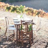 Vineyard Wedding Table