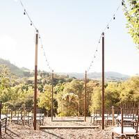 Scenic Vineyard Ceremony