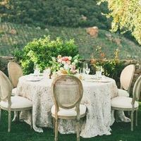 Lovely Vineyard Wedding Table