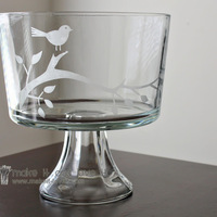 DIY: Etched glass (great wedding gift!)