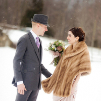 Winter, winter wedding fashion