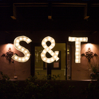 Monogrammed Marquee Lights