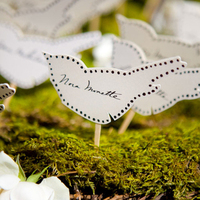Bird Escort Cards