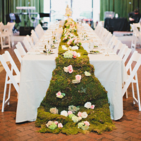 Moss Table Runner
