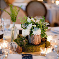 Moss Centerpiece Accents