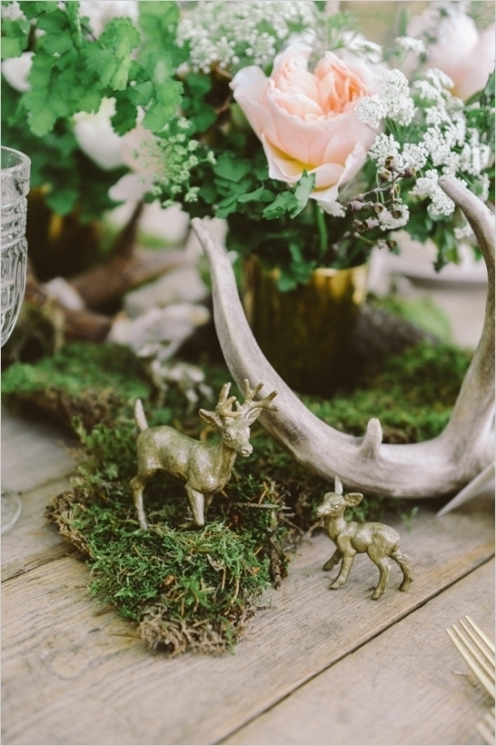 Mossy Woodland Centerpiece
