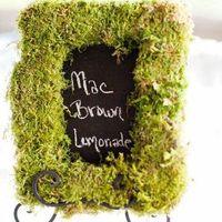Moss Chalkboard Frame