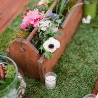 Moss Runner and Centerpiece