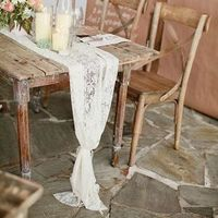 Rustic Lace Wedding Table