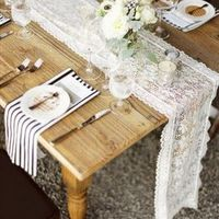 Rustic Lace Tablescape